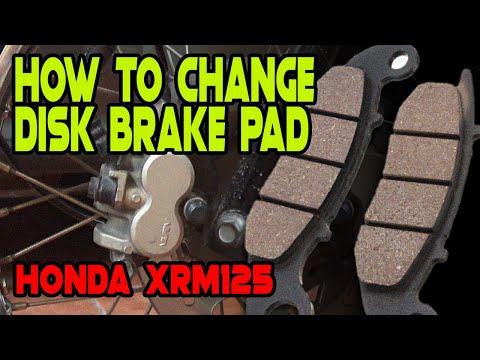 Pano mag palit ng disk brake pad | Honda XRM125