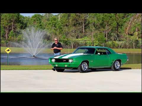 1969 Z28 Camaro Rally Green