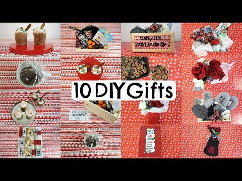 10 DIY Christmas Gifts People ACTUALLY WANT! Last Minute Ideas