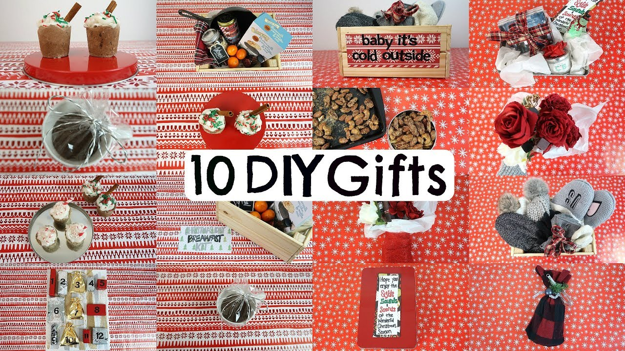 10 Diy Christmas Gifts People Actually Want Last Minute