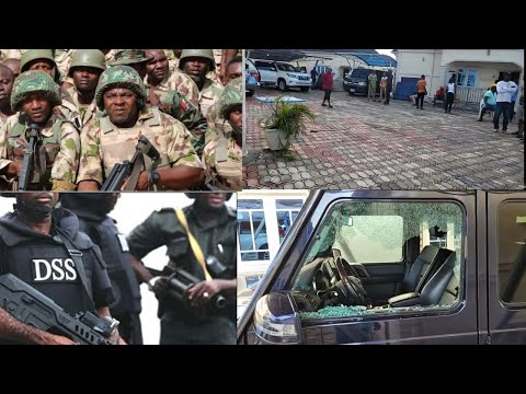 WATCH THE DETAILS HOW NIGERIAN ARMY AND DSS ATTACK SUNDAY IGBOHO RESIDENCE