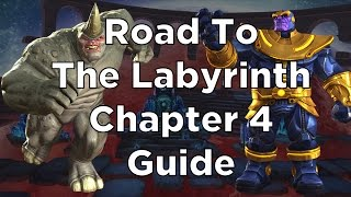 Road To The Labyrinth Chapter 4 Guide - Setup + Pro Hints and Tips - Marvel Contest of Champions