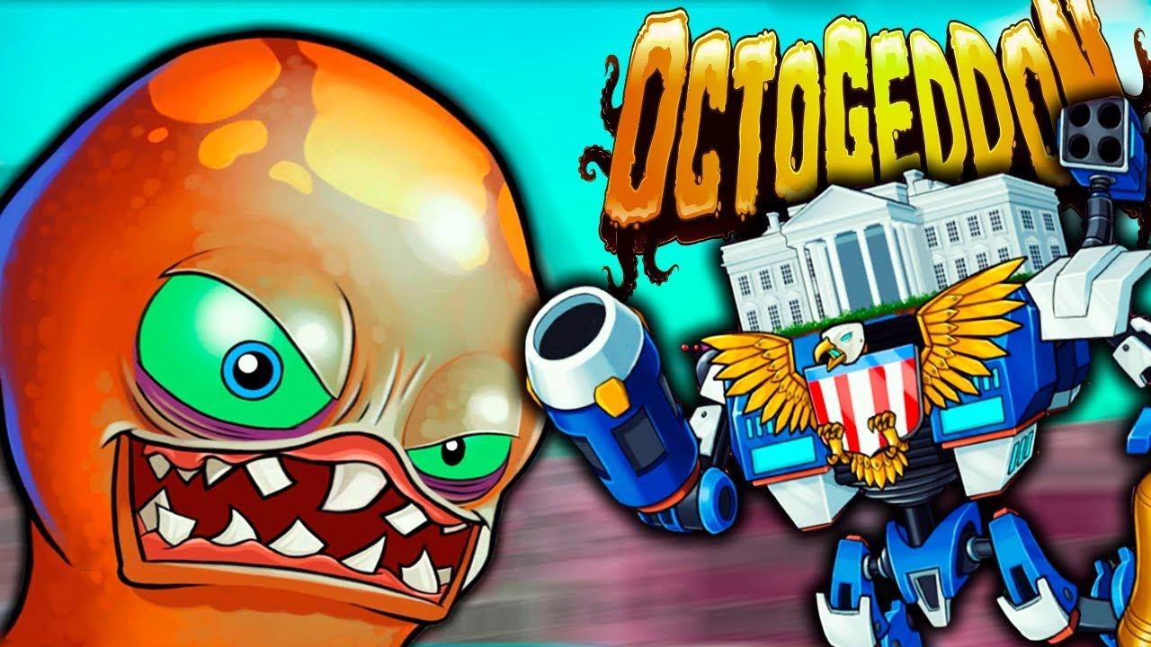 РАЗРУШИЛ БЕЛЫЙ ДОМ и СРАЗИЛСЯ С ГЛАВНЫМ БОССОМ! Финальная БИТВА в Игре Octogeddon #5