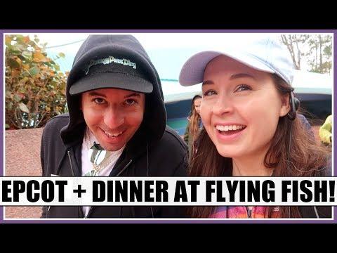 FLYING FISH + DISNEY TRAVEL DAY! | Spring 2019 Walt Disney World Trip Vlog, Days 1 & 2