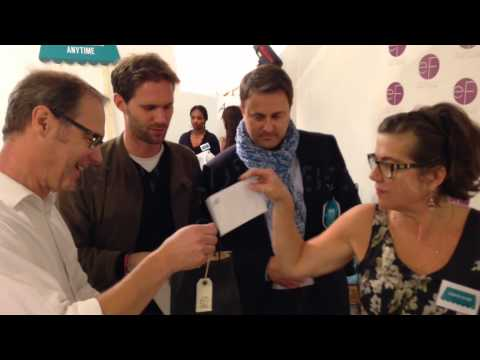Prime Minister Xavier BETTEL tests EF Face Creams, and loves them!