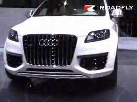 Roadfly Com Audi Q7 V12 Tdi Diesel Concept Car Youtube