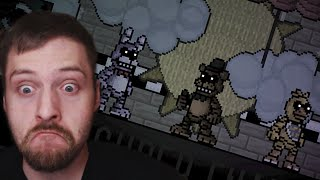 FNAF IN 2D - Super FNAF Trailer Reaction (Deutsch/German) | Indie Horror Game