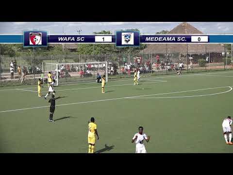 WAFA SC: HIGHLIGHTS OF WAFA SC VRS MEDEAMA FC IN THE 2017/2018 GHANA PREMIER LEAGUE