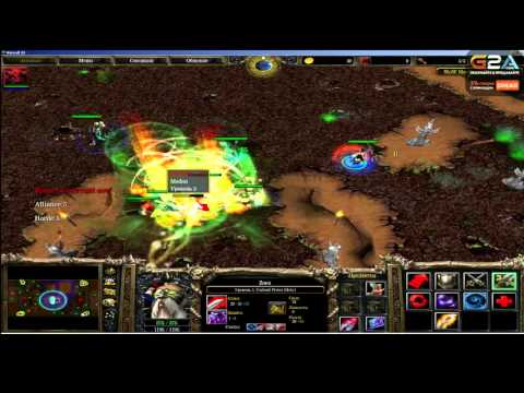 Dread. стрим 08.11.2015. Warcraft III Footmen Frenzy