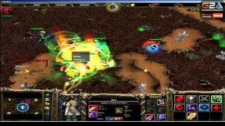 Dread. стрим 08.11.2015. Warcraft III Footmen Frenzy
