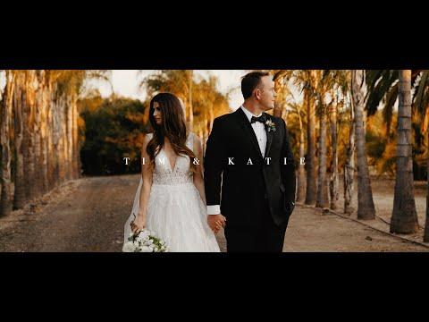 A Paradise Falls Wedding In Oceanside, CA