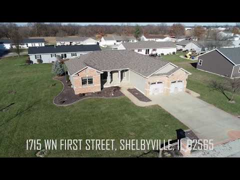Custom Built Home For Sale -1715 wn 2nd, Shelbyville, IL62565