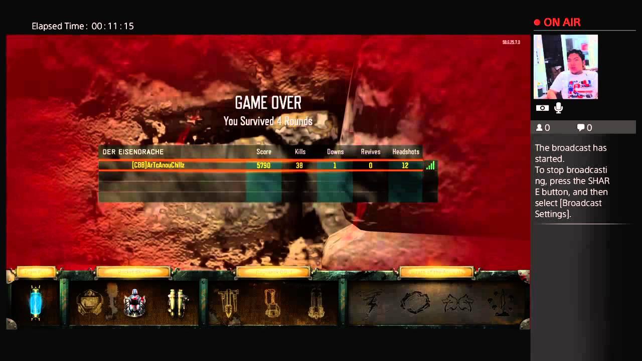 Call of Duty: Black Ops 3 Der Eisendrache Highround Round 50++