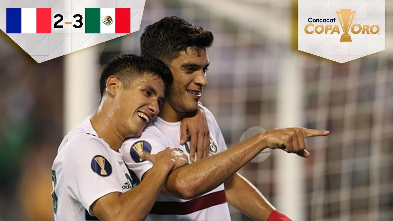 México culmina perfecto la fase de grupos | Martinica 2 - 3 México | Copa Oro 2019