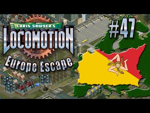 Chris Sawyer's Locomotion: Europe Escape - Ep. 47: SICILIAN EXPANSION