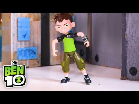 Ben 10   Omni-Enhanced Diamondhead Toy!   Cartoon Network