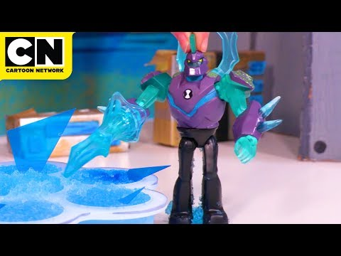 Ben 10 | Omni-Enhanced Diamondhead Toy! | Cartoon Network