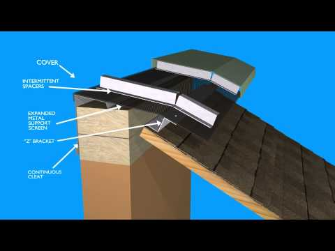 Hi Perf Ridge Vent Slope To Vertical Wall Youtube