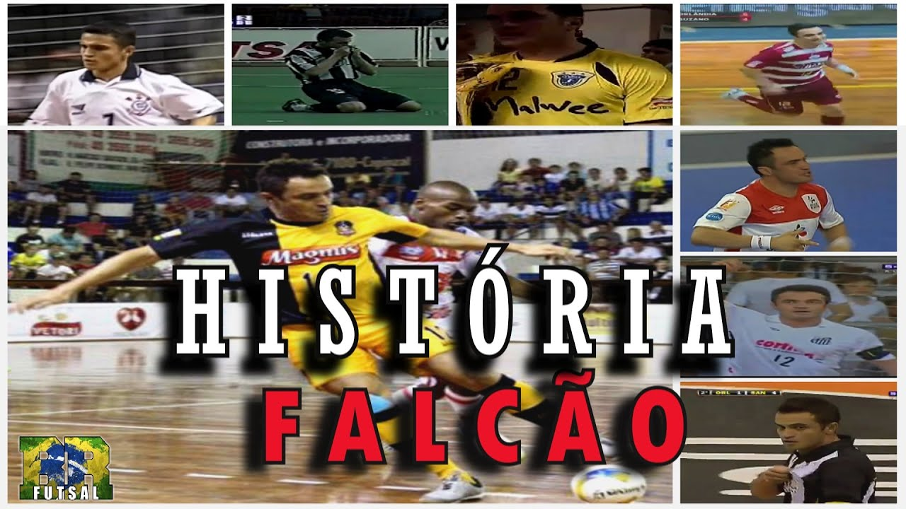Falcao Futsal Trajetoria Do Rei Do Futsal Em Video 1993 2016