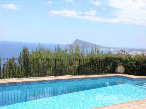Holiday Villas in Altea Costa Blanca