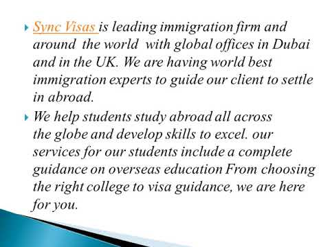 Study in New Zealand withSync Visa consultants Dubai
