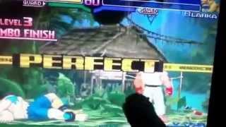 Godzilla plays street fighter alpha 3 part 1of 5