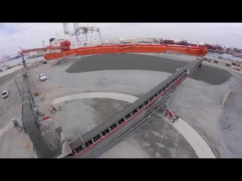 Thor Global - Ship Unloading in Long Beach, California
