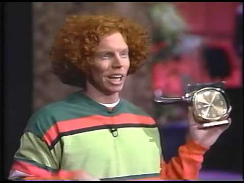 Carrot Top on Jay Leno