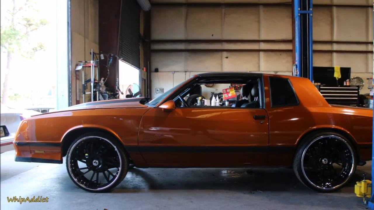 All Chevy 1988 chevrolet monte carlo ss for sale : WhipAddict: For Sale, $12K 87' Monte Carlo SS T-Top on Forgiato ...