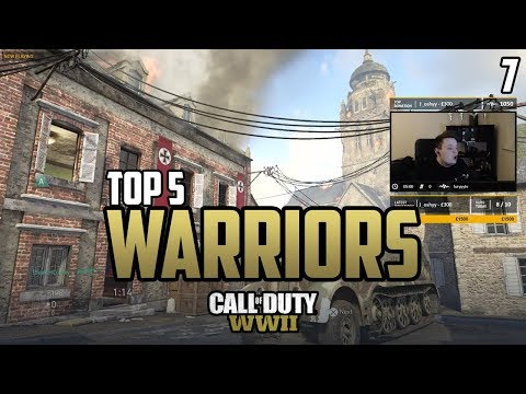 Classic DESTROYS Apathy - COD WWII: TOP 5 PRO WARRIORS #7 - Call of Duty World War 2