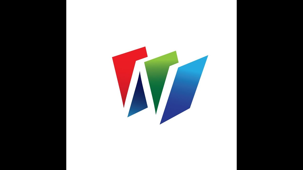 M Logo 3d 3D letter logo ...