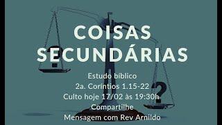 IP Central de Itapeva - Culto de Quarta - Feira  - 17/02/2021