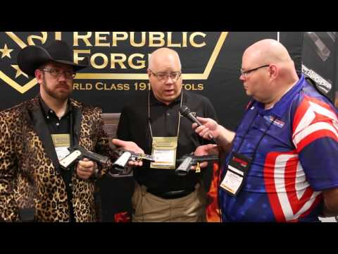 Republic Forge American Made 1911s For AMERICA!  -- SHOT Show 2016