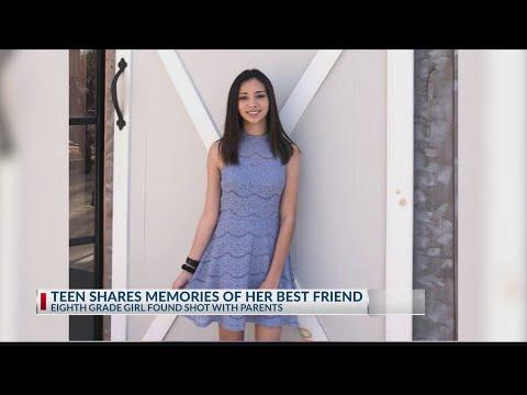 Teen Shares Memories Of Her Best Friend