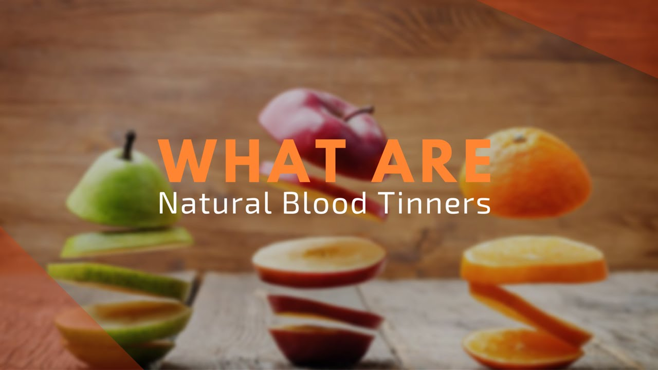 natural blood thinners - blood thinner medication