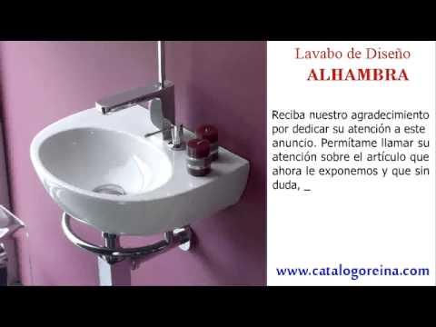 Lavabos baratos alhambra youtube for Lavabos baratos