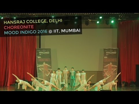 A Powerful Contemporary Dance Performance by Hansraj College Students at Mood Indigo