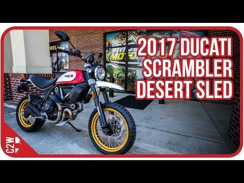 2017 Ducati Scrambler Desert Sled   First Ride