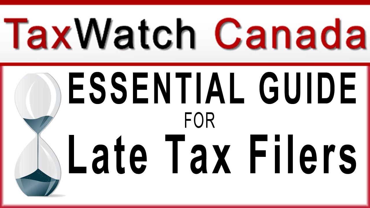 file taxes late canada