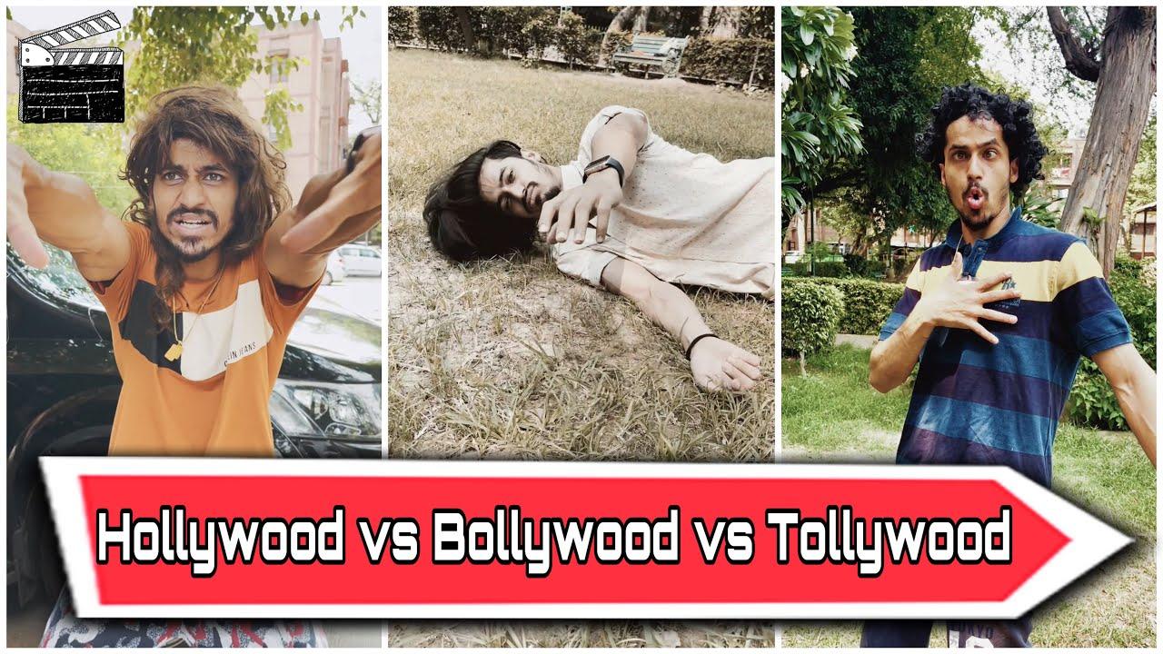 Hollywood vs Bollywood vs Tollywood | with BTS | Akash sagar