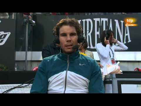 "Rafael Nadal: ""David Ferrer makes you play at a high pace"""