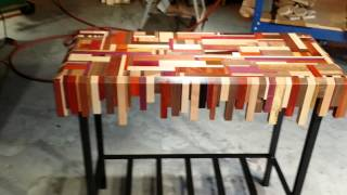 Scrap Wood Table