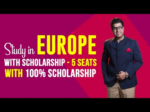 Win 5 Scholarships to Study in Europe