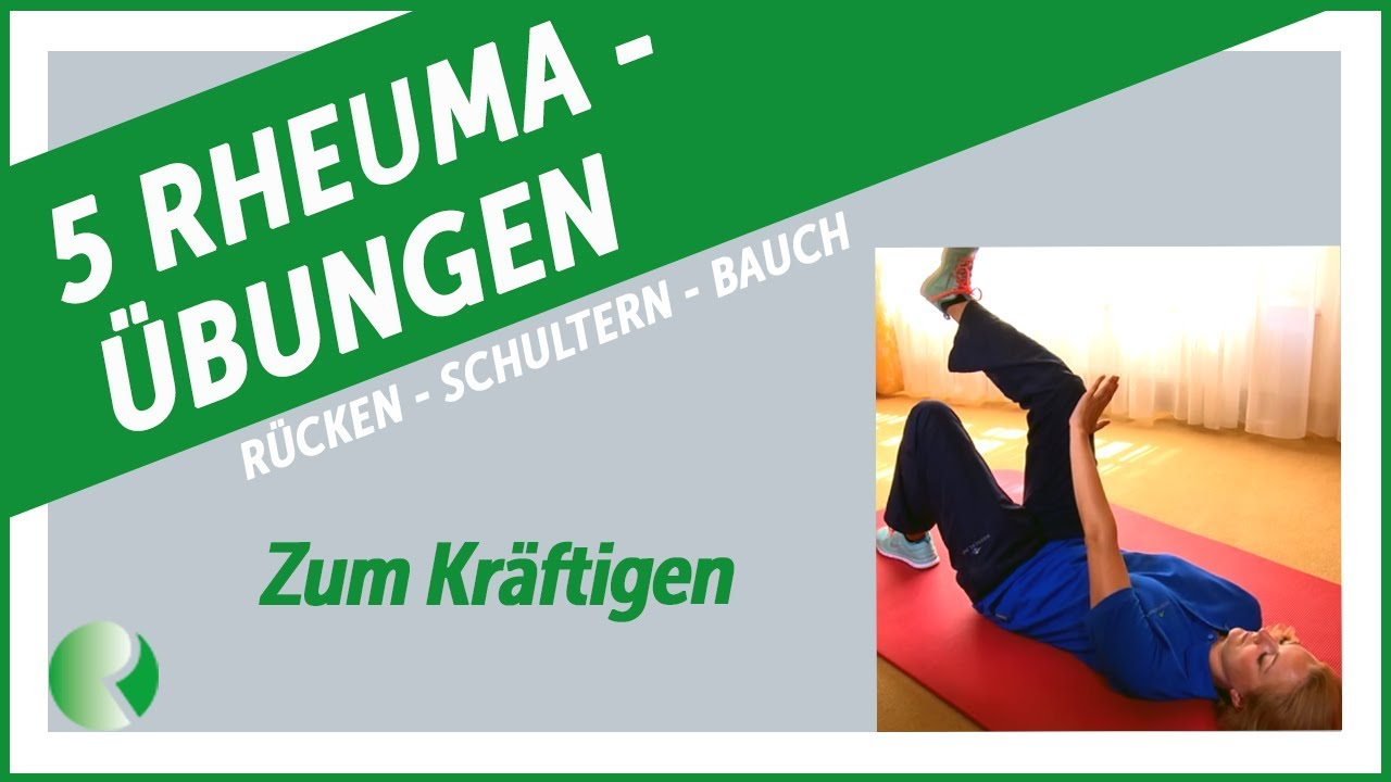 5 Rheuma übungen Für Rücken Schultern Nacken übungen Zum