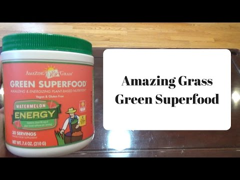 Amazing Grass Green Superfood Unboxing (Watermelon)