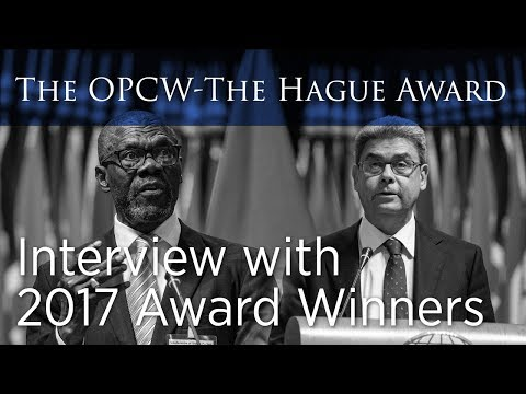 OPCW The Hague Award 2017 Winners Interview
