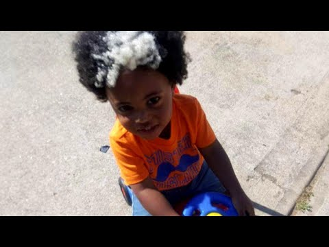 Toddler Born With White Streak in His Hair Turns Heads Wherever He Goes