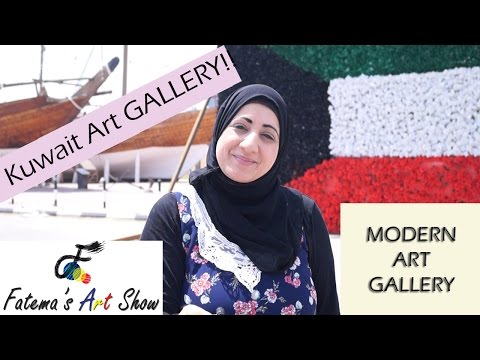 Kuwait Modern Art Gallery Tour | Fatema's Art Show
