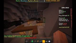 [ World Record ] Minecraft - Hypixel Warlords Lobby Parkour All Checkpoints (30.962)