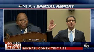 Cohen will testify in public for the first time before the House Ov...